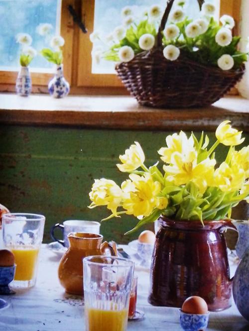 Blumendekoration Tulpen