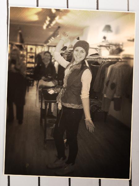 Brigitte von Boch Shop Hannover Kollektionsanprobe