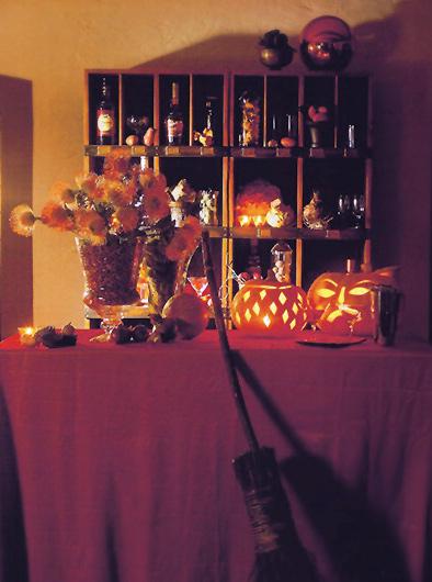Brigitte von Boch Halloween Deko Kuerbis