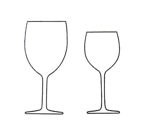 Wein Glas Rotwein Weisswein Brigitte von Boch