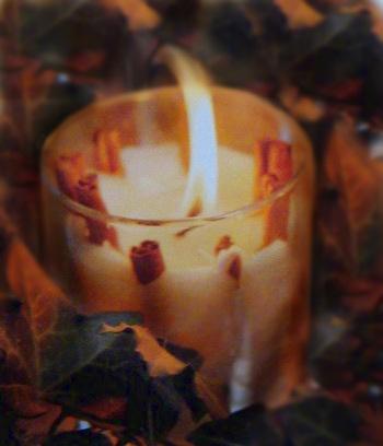 Brigitte von Boch Zimt-Kerzen DIY Deko
