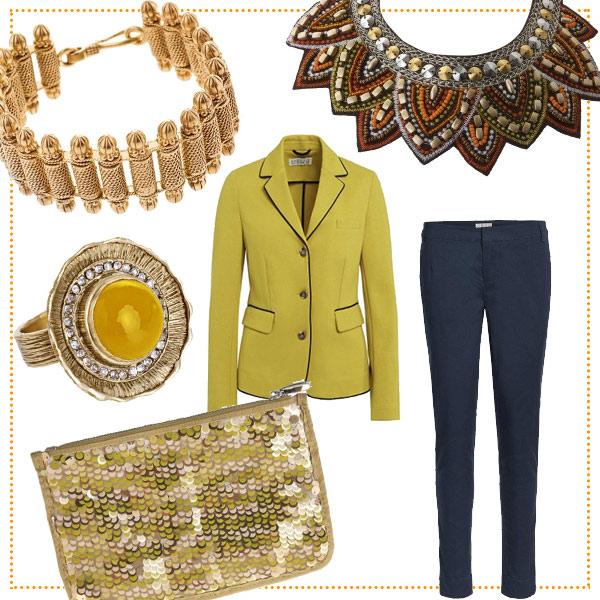blazer-gelb-gold