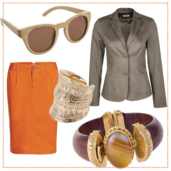 blazer-orange-beige