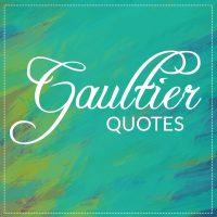 Style-Zitate von Jean Paul Gaultier