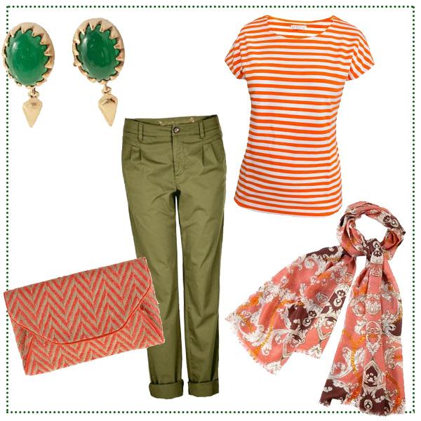 casual-look-orange-khaki